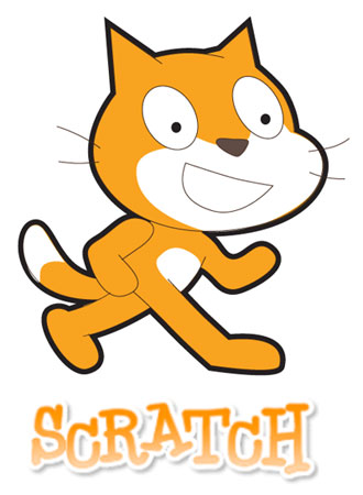 scratch cat logo for coding program