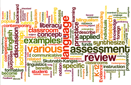 Wordle created using the description of TESL 5104