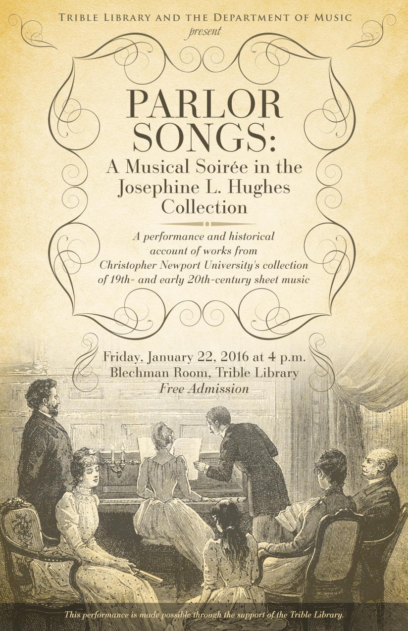 Parlor Songs Concert - January 22, 2016