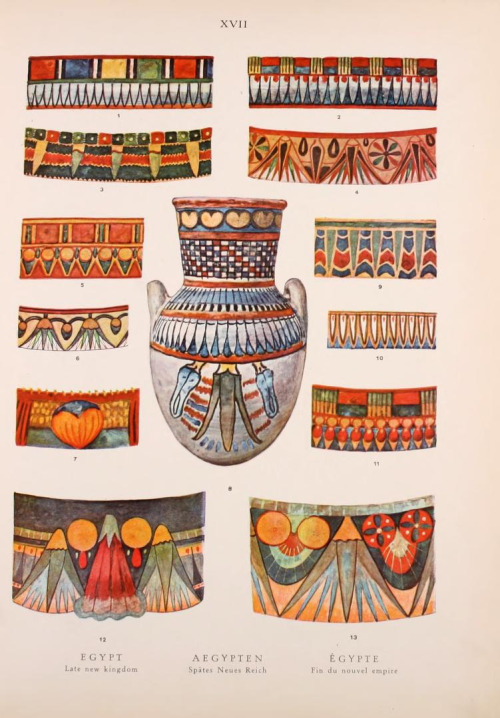 Egyptian patterns