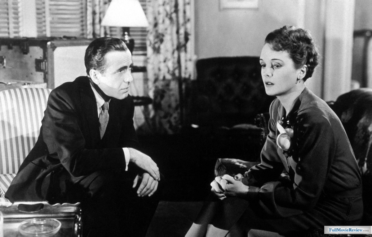 Mary Astor portrays femme fatale, Brigid O' Shaunessy in 1941 film adaptation of The Maltese Falcon
