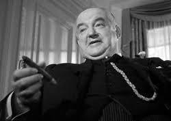 "Sydney Greenstreet portrays Kasper Gutman, ""the fat man"" in 1941 film adaptation of The Maltese Falcon"