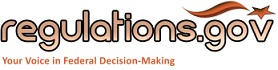 regulations.gov logo: Your Voice in Federal Decision-Making