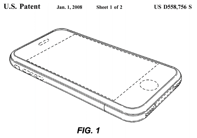 Patent for iPhone