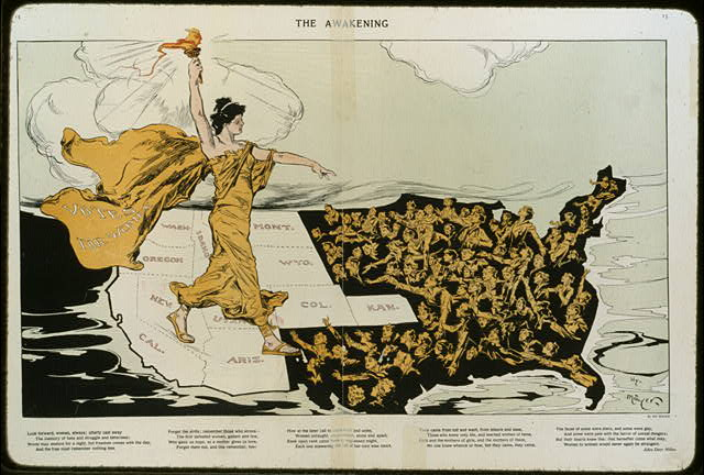 womens suffrage image