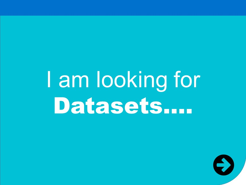 i am looking for datasets