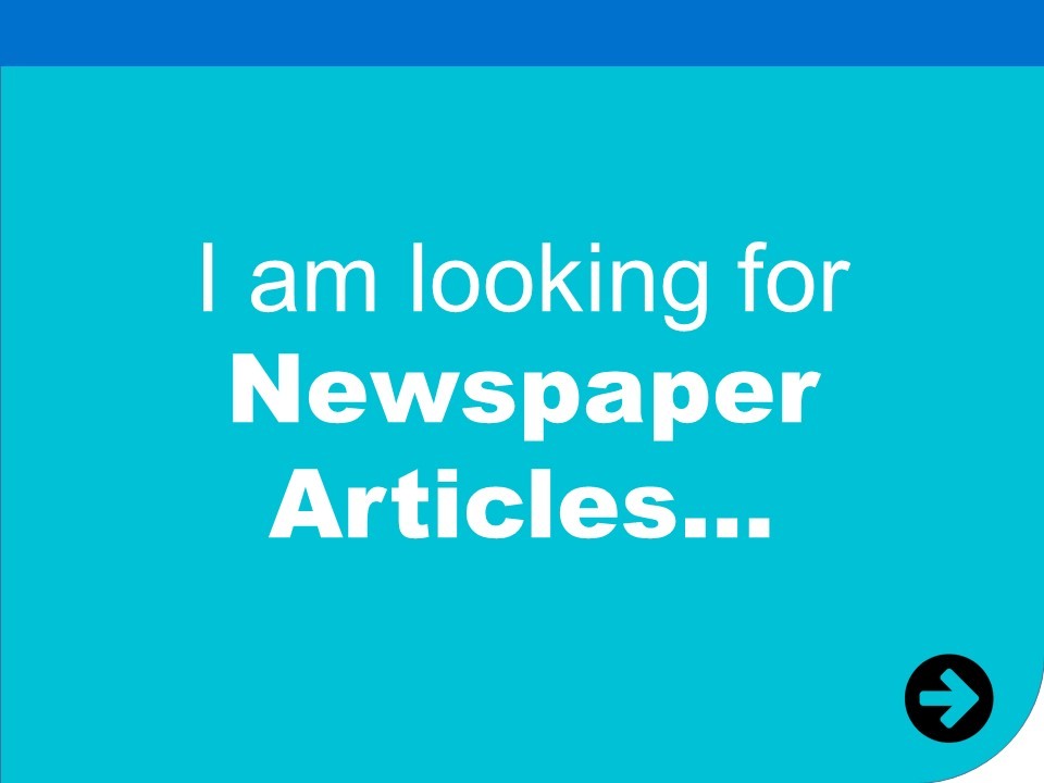 i am looking for newspaper articles