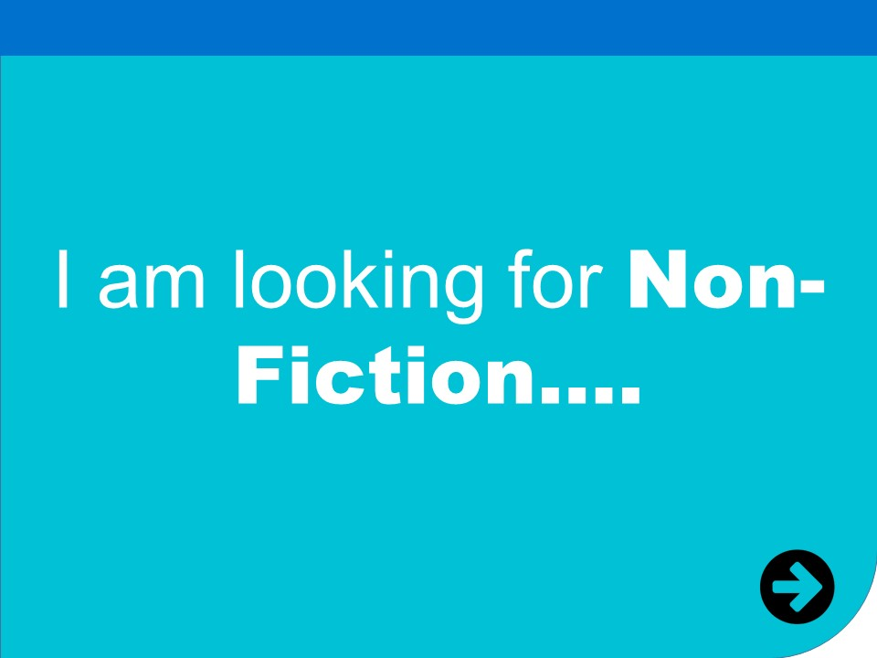 i am looking for non fiction
