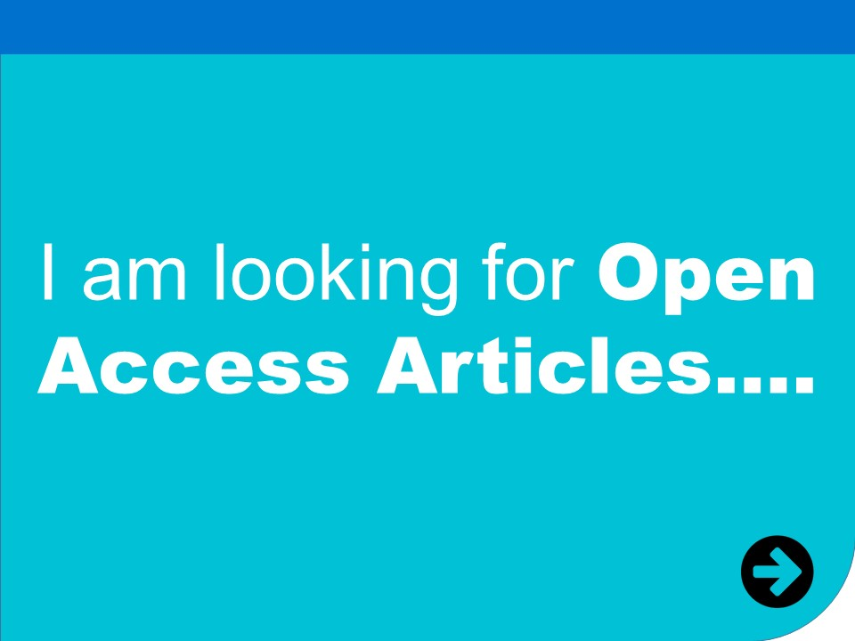 i am looking for open access articles
