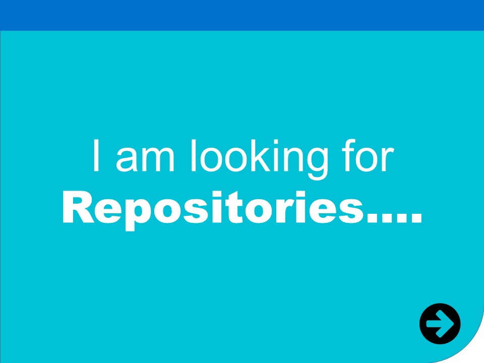 i am looking for repositories