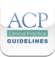 ACP Clinical Guidelines app image
