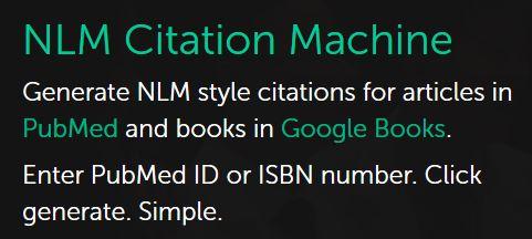 nlm citation generator