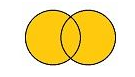 Venn diagram illustrating OR Boolean operator