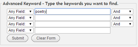 advanced keyword search