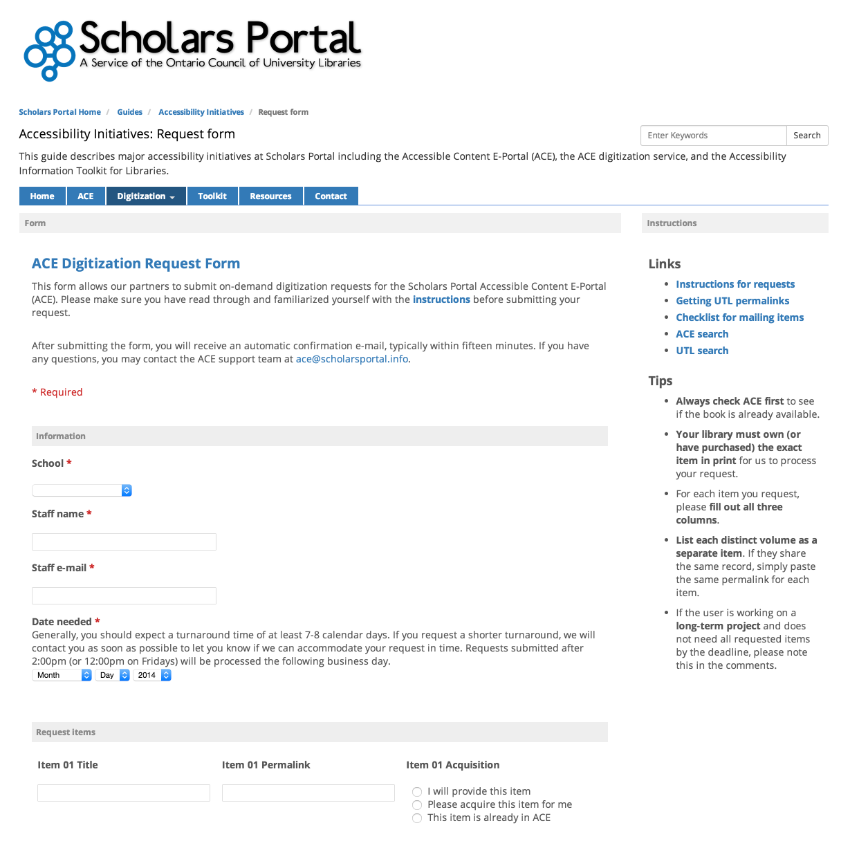 Digitization service - Accessibility Initiatives - Guides at ...