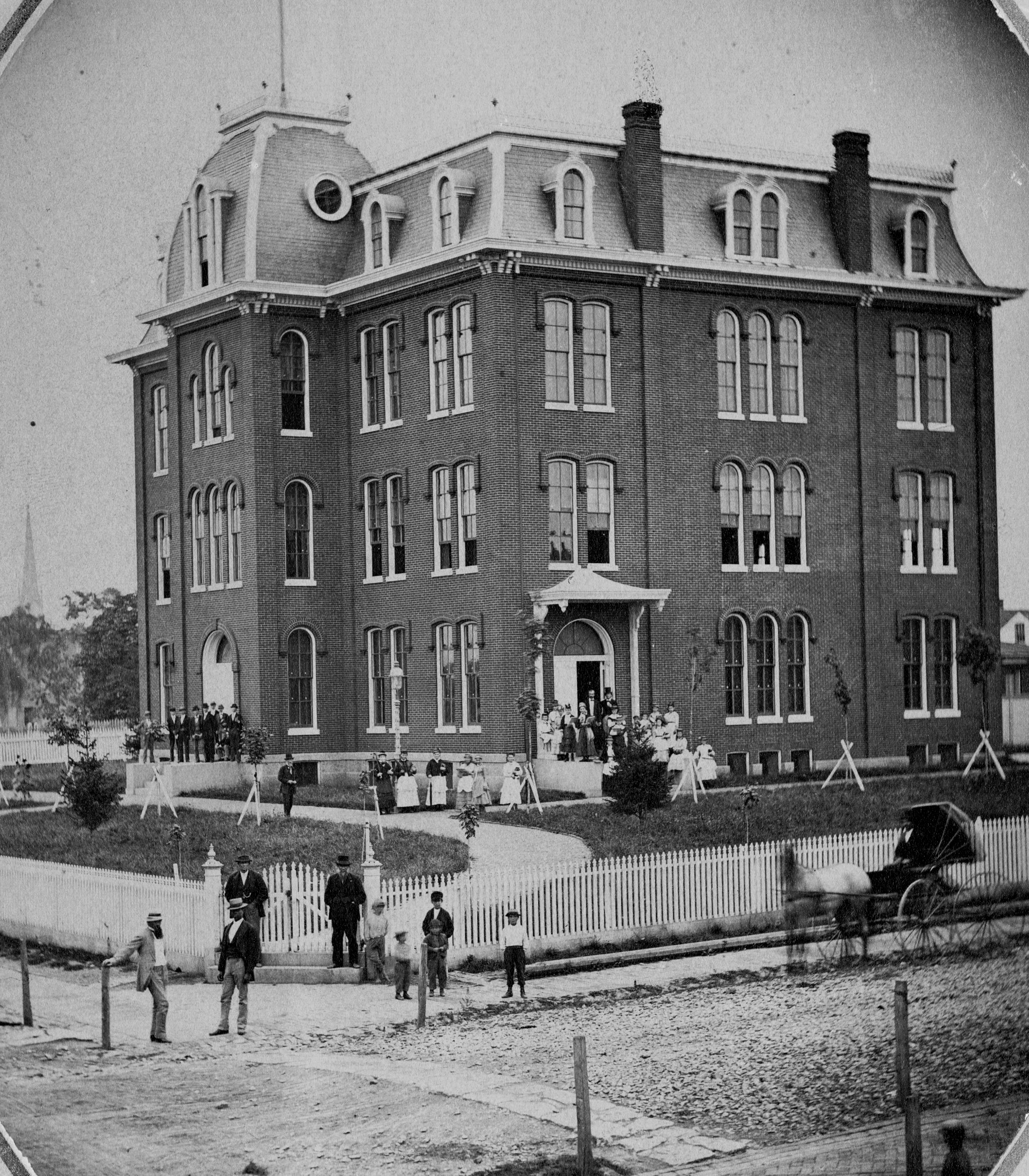 York Collegiate Institute's first building
