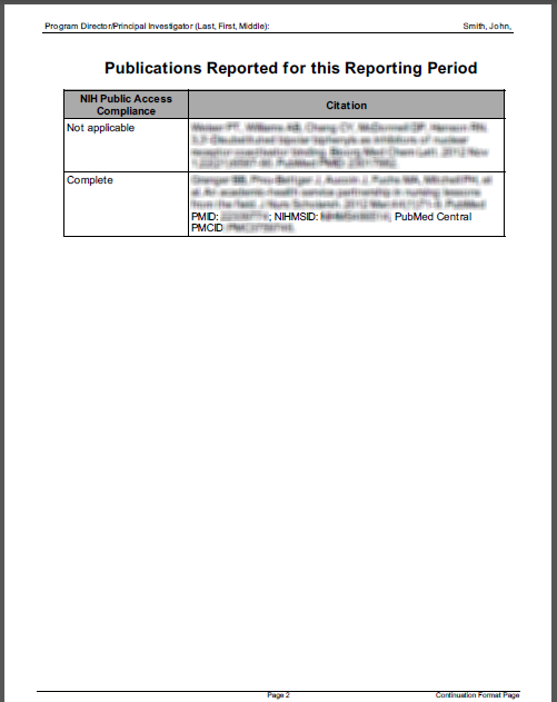 My Bibliography PDF report example