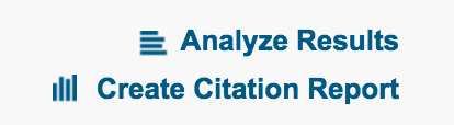create citation report link example
