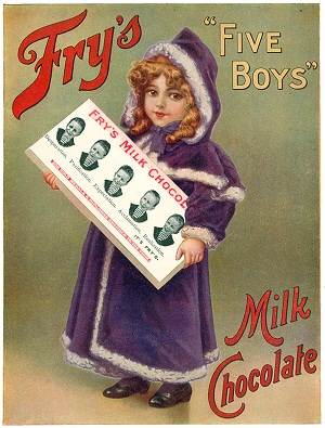 Ad for Fry's Milk Chocolate