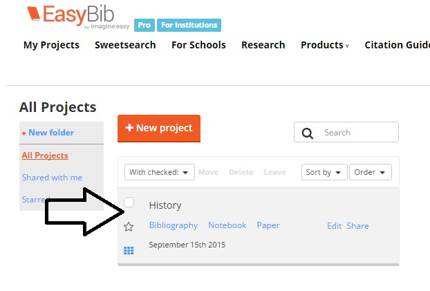 easybib project