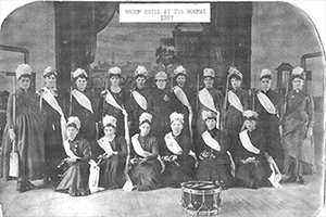 DSU Broom Drill Team 1887