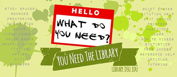 What do you need? You need the Library