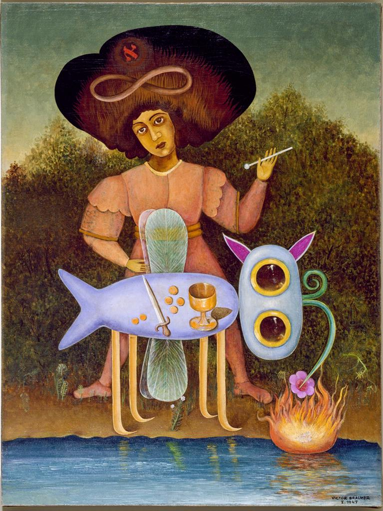 Victor Brauner:	The Surrealist