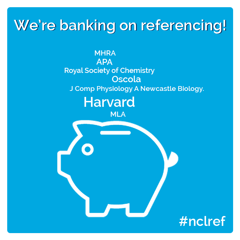 image of banking on referencing