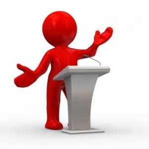 public speaking image
