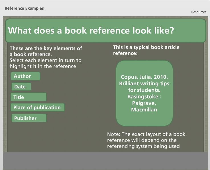 What exactly is a reference search?
