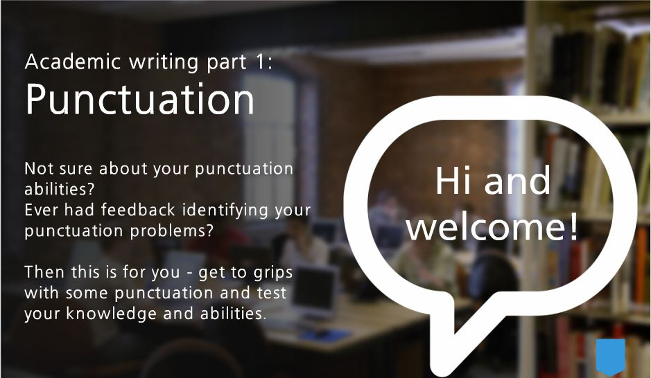 Test your punctuation online tutorial