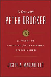 A year with Peter Drucker