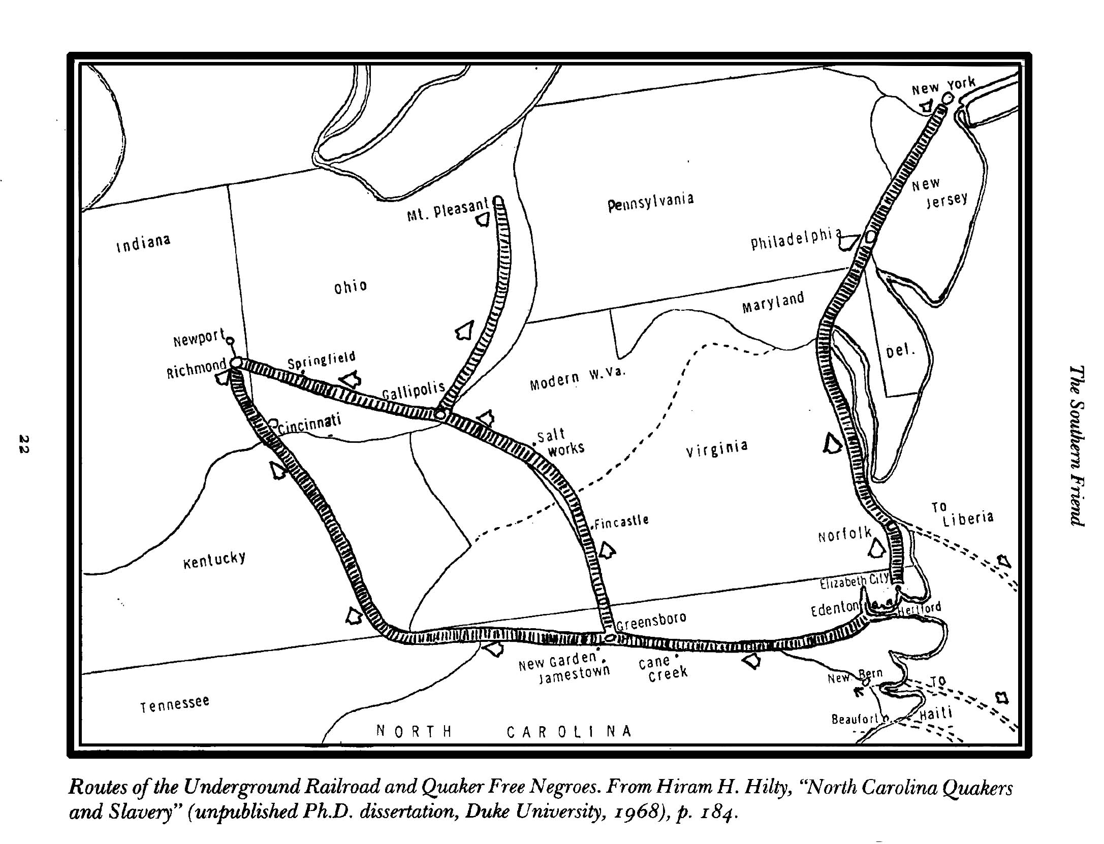 the underground railroad in north carolina essay Gateway to freedom: the hidden history of the underground railroad  the  essays' author, the distinguished new orleans physician samuel adolphus  at  most, escaped slavery each year—nearly all from states bordering the free north —their flight  country clubs in chicago, palm beach, or asheville, north  carolina.