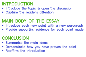 Essays  Assessment Tasks  Library Guides At Melbourne Polytechnic The Parts Of An Essay Typically An Essay Includes These Parts