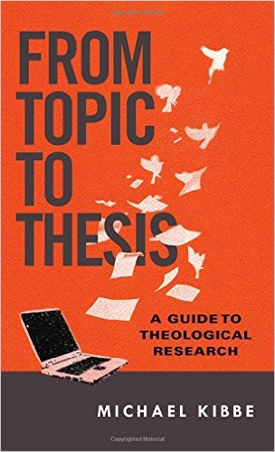 theological thesis or disserations