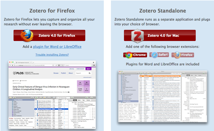 Download image from Zotero. Click on the link to go to the download page