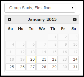 how to book group study rooms guides at british university in