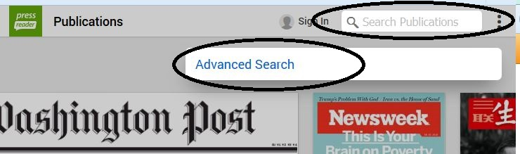 search and advanced search image
