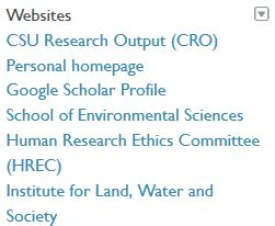 Orcid websites