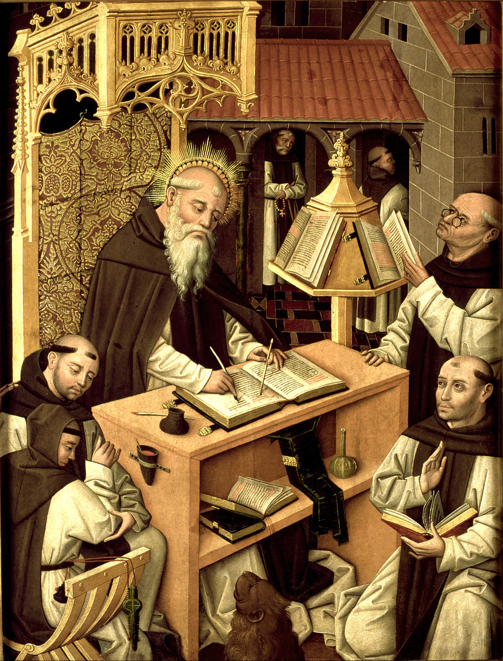 St. Jerome in the scriptorium