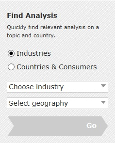 Analysis search in Passport GMID