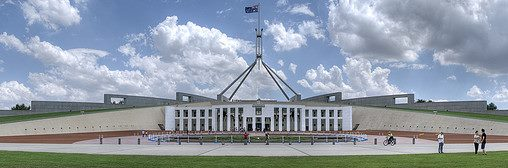 image courtesy: Rick Wick, 'Parliament house' internet: <https://www.flickr.com/photos/ryanwick/2188315629/> CC licence 2.0