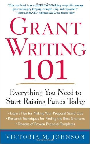 Book cover: grant writing 101