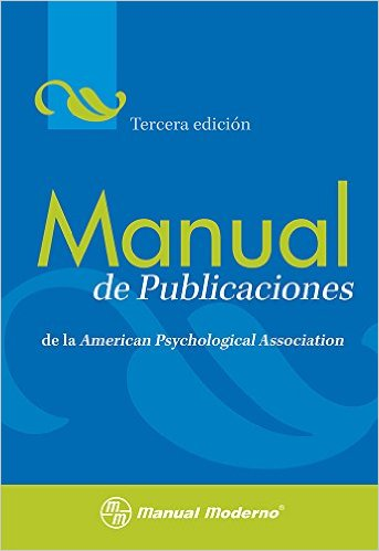 Book cover: APA 6th Edition Manual de Publicaciones