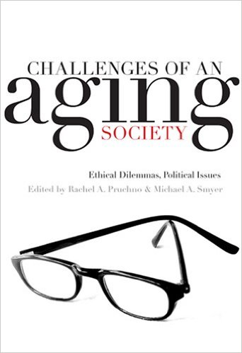 Book cover: the challenges of an aging society