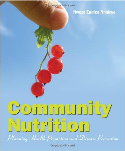 Book cover: community nutrition