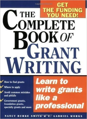 Book cover: the complete book of grant writing