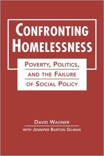 Book cover: confronting homelessness