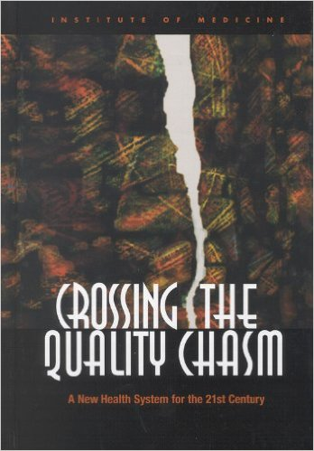 Book cover: crossing the quality chasm