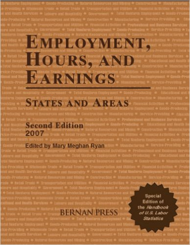 Book cover: employment, hours, and earnings
